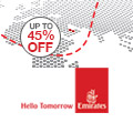 Emirates on sale until 6th March