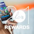 2 For 1 Rewards Vouchers Valued At R30,000!